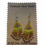 Sabah Local earrings – 1A1-1Y2-SLE SS10