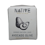 Borneo Natural Soap – Avocado Olive