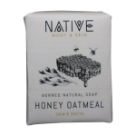 Borneo Natural Soap – Honey Oatmeal