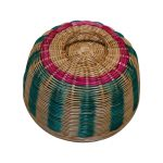 Rattan Food Cover Colourful 12