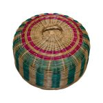 Rattan Food Cover Colourful 16