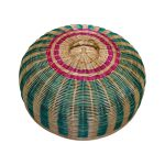 Rattan Food Cover Colourful 20