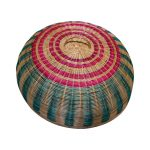 Rattan Food Cover Colourful 26