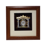 Framed Pewter Gong (Single)