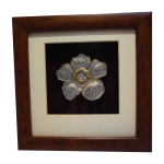 Framed Pewter Rafflesia (Single)