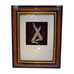 Framed Pewter Sompoton (8×10)