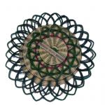 Rattan Coaster Set (Green)