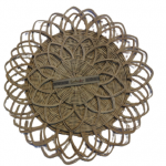 Rattan Coaster Set (Plain)